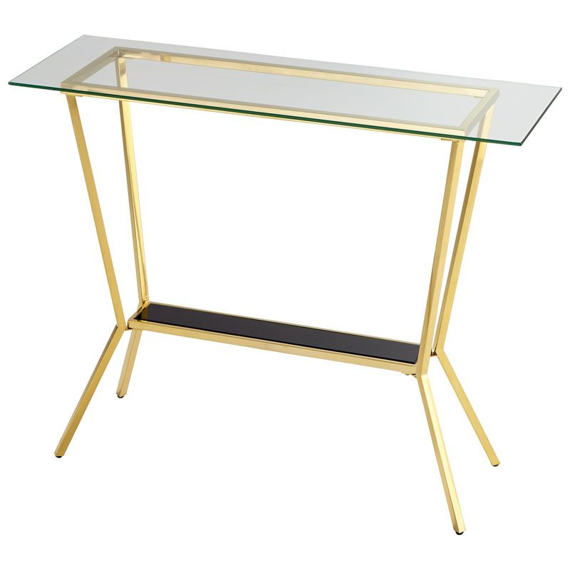 Cyan Design Arabella Console Table Arabella 47.25 Inch Long Brass With