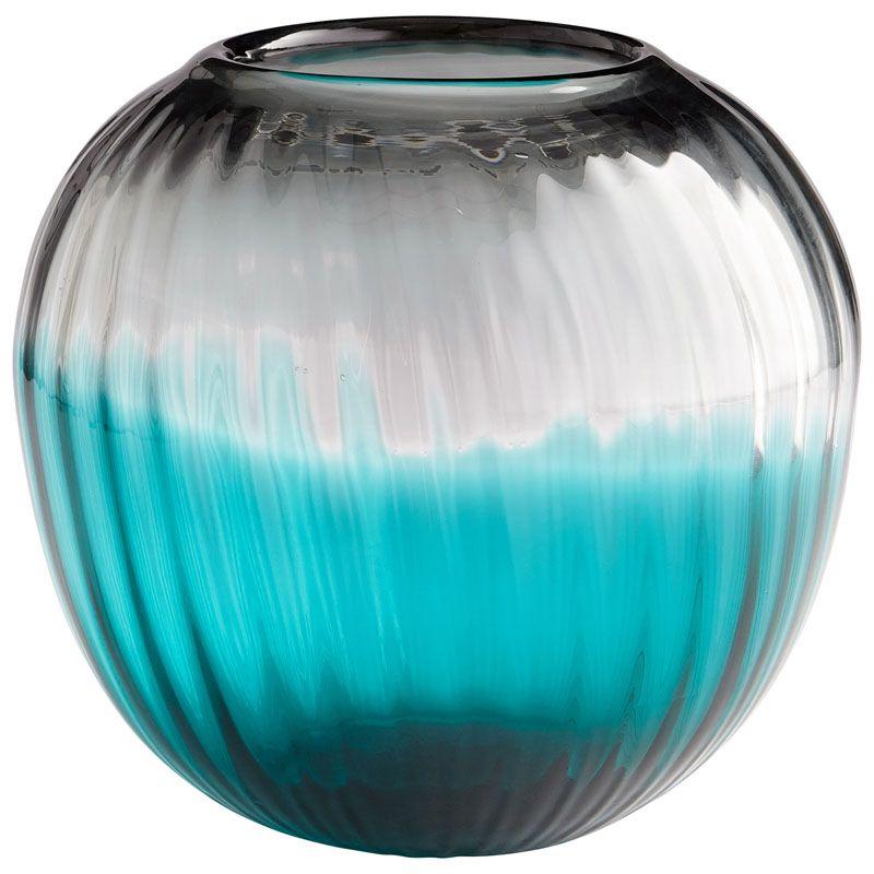 Cyan Design Serenity Sphere Vase Serenity 9.25 Inch Tall Glass Vase