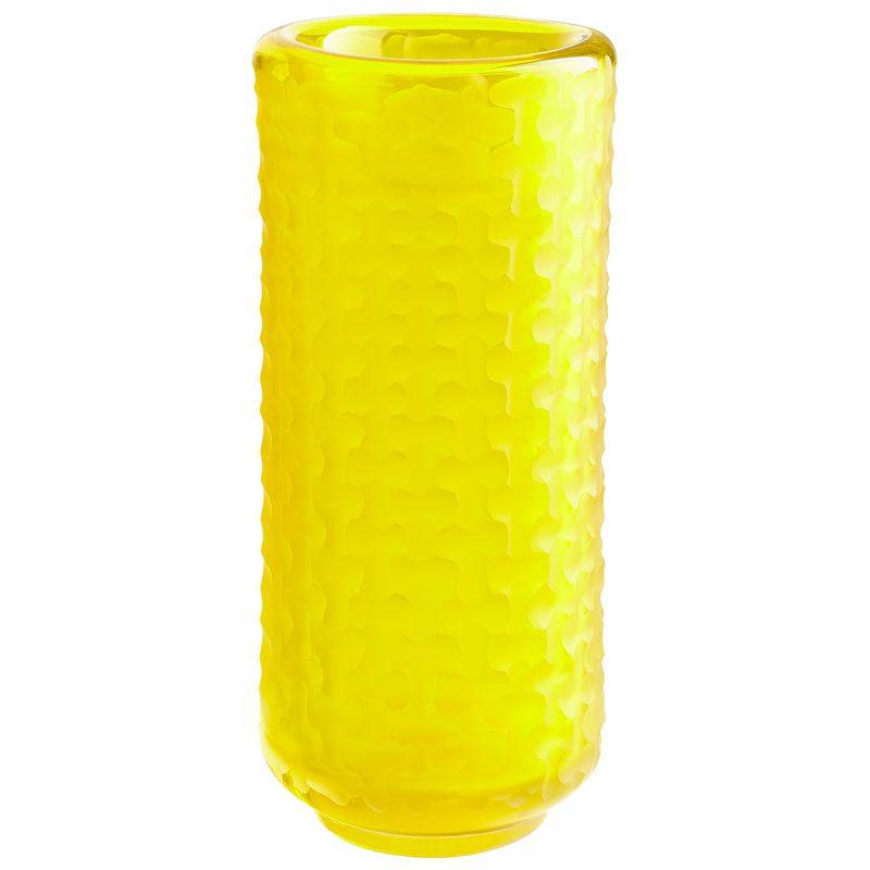 Cyan Design Small Lemon Drop Vase Lemon Drop 11.75 Inch Tall Glass