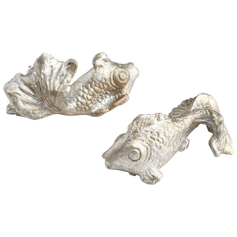 Cyan Design Pisces Sculpture Pisces 1.25 Inch High Iron Figurine