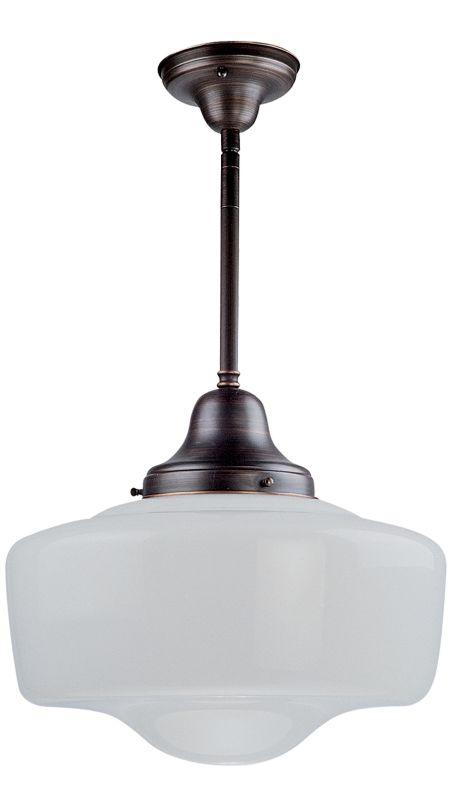 """DVI Lighting DVP7551 Schoolhouse 14"""" High 1 Light Energy Star"""
