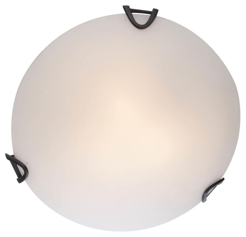 """DVI Lighting DVP0512 Solstice 16.5"""" Width 2 Light Flush Mount Ceiling"""
