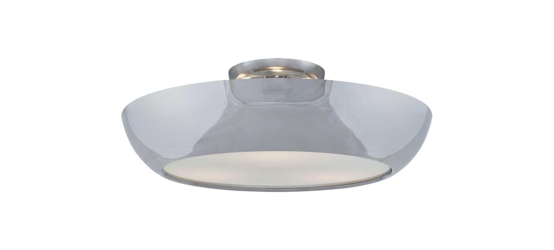 """DVI Lighting DVP0612 Antares 3 Light 16"""" Wide Semi-Flush Ceiling"""