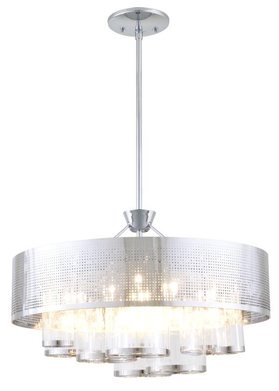 DVI Lighting DVP10408 Dakar 6 Light Drum Pendant Chrome / Clear Indoor Sale $1115.20 ITEM: bci2550874 ID#:DVP10408CH-CL UPC: 61467039781 :