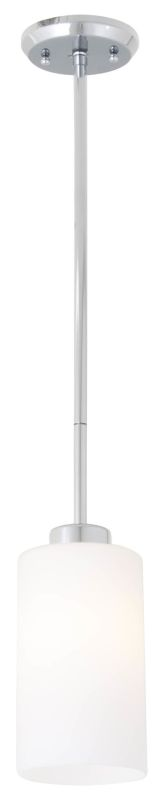 DVI Lighting DVP10521 Haida 1 Light Mini Pendant Chrome / Half Opal Sale $75.85 ITEM: bci2273281 ID#:DVP10521CH-OP UPC: 61467034892 :