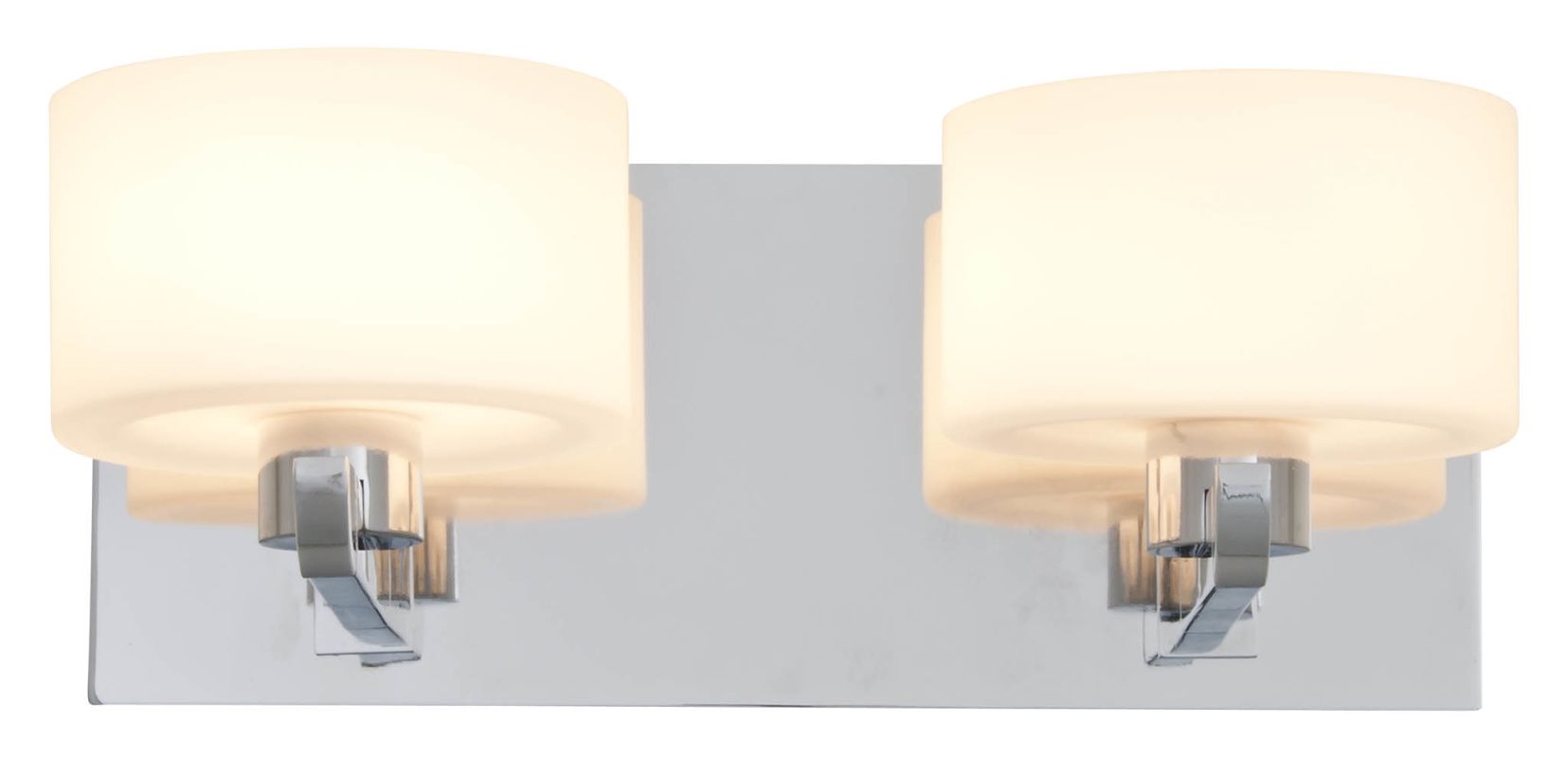 DVI Lighting DVP10522 Haida 2 Light Halogen Bathroom Vanity Fixture Sale $112.75 ITEM: bci2273284 ID#:DVP10522CH-OP UPC: 61467034373 :