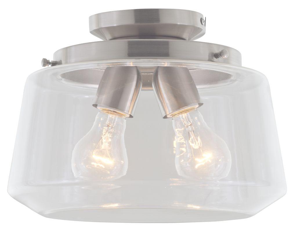 DVI Lighting DVP13911 Levant 2 Light Semi Flush Ceiling Fixture Chrome Sale $229.60 ITEM: bci2550909 ID#:DVP13911CH-CL UPC: 61467043818 :