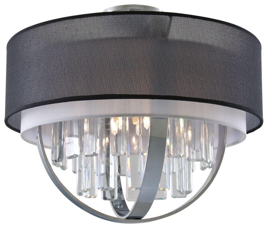 DVI Lighting DVP14118 Hemispheres 5 Light Semi-Flush Mount Ceiling