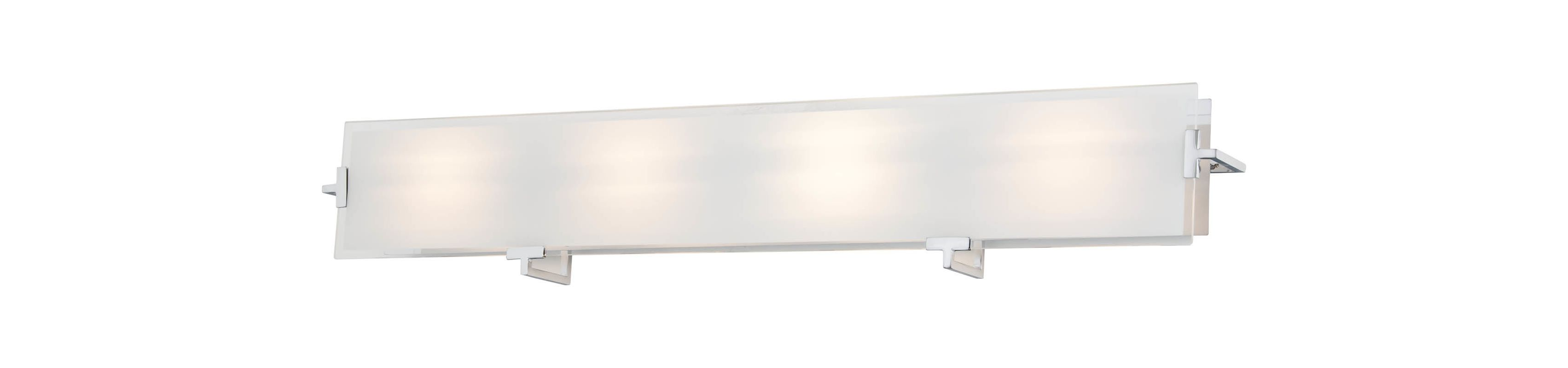 DVI Lighting DVP14544 Zurich 4 Light Bathroom Vanity Light Chrome / Sale $239.85 ITEM: bci2273368 ID#:DVP14544CH-SSOP UPC: 61467035806 :