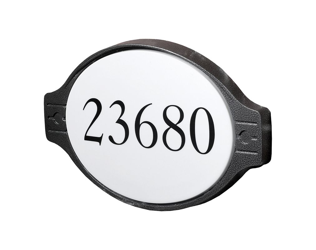 "DVI Lighting DVP1504AD Media 13.75"" Width Address Light Hammered Black"