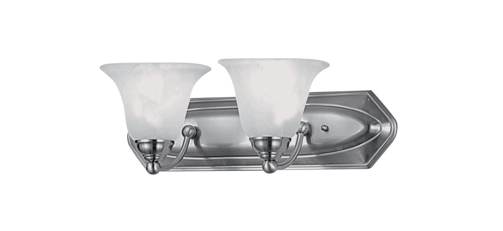 DVI Lighting DVP41802 Diamond 2 Light Incandescent Bathroom Vanity