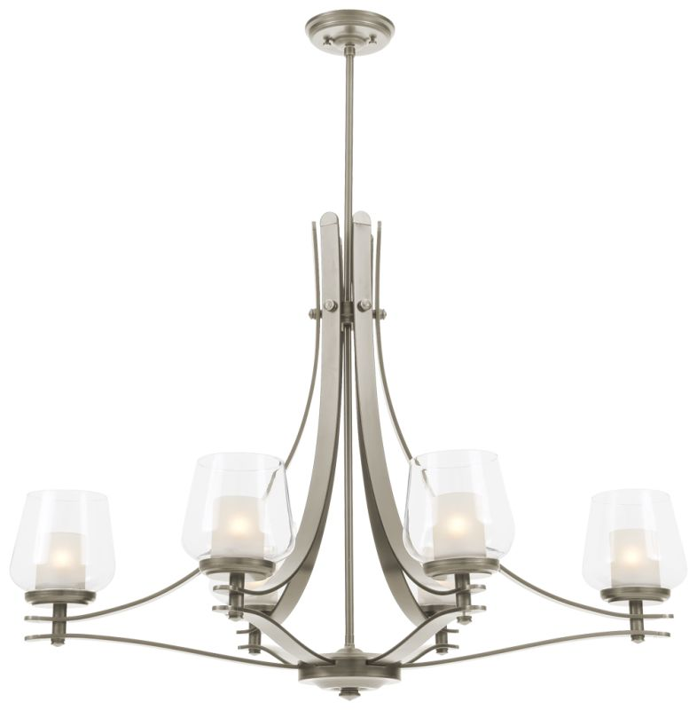 DVI Lighting DVP5402 Isabella 6 Light Single Tier Chandelier Chrome Sale $938.90 ITEM: bci2134445 ID#:DVP5402CH-OP UPC: 61467031143 :