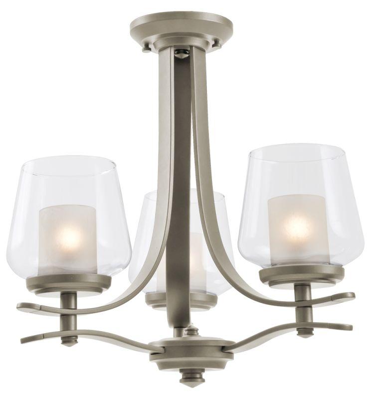 DVI Lighting DVP5423 Isabella 3 Light Dual Mount Semi-Flush Ceiling Sale $391.55 ITEM: bci2134459 ID#:DVP5423SN-OP UPC: 61467031280 :