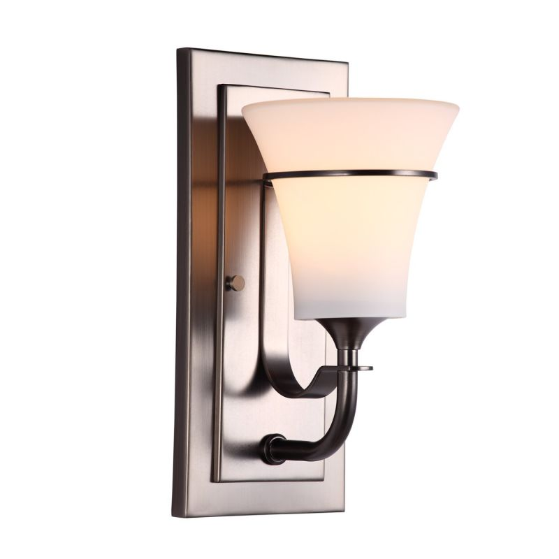 DVI Lighting DVP8301 Richmond Single-Light Wall Sconce Mocha with