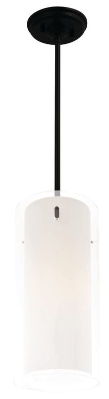 "DVI Lighting DVP9021 Essex 13.5"" Height 1 Light Mini Pendant Graphite"
