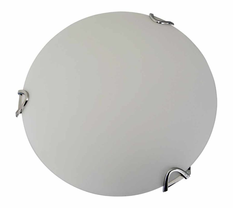 "DVI Lighting DVP0511 Solstice 12"" Width 2 Light Flush Mount Ceiling"