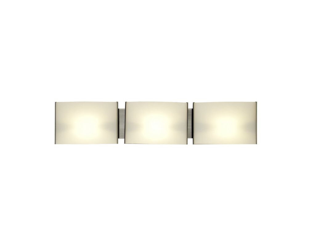 DVI Lighting DVP1758 Mega Vanguard Three-Light Bathroom Fixture Satin Sale $186.55 ITEM: bci1986705 ID#:DVP1758SN-OP UPC: 61467026644 :