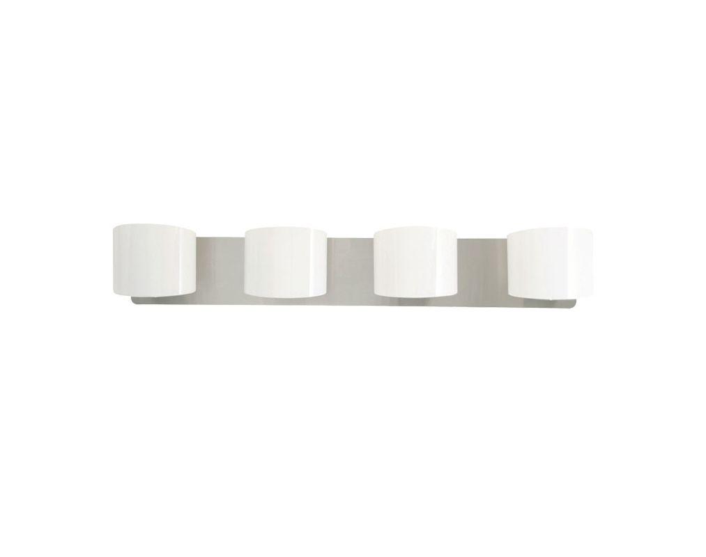 DVI Lighting DVP3144 Normandy Four-Light Bathroom Fixture Chrome with