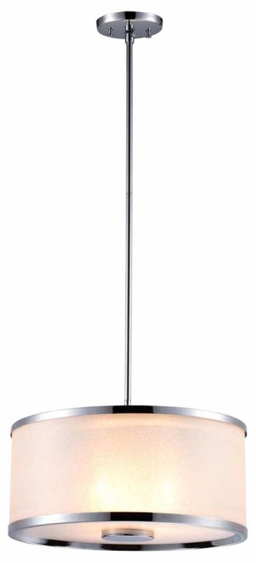 DVI Lighting DVP5306 Milan Three-Light Drum Pendant Chrome with Sale $270.60 ITEM: bci1986811 ID#:DVP5306CH-SD UPC: 61467021311 :