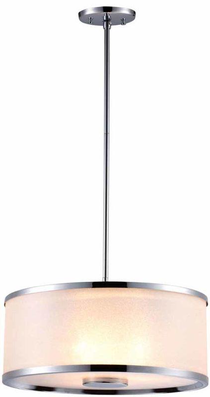 DVI Lighting DVP5307 Milan Three-Light Drum Pendant Chrome with Sale $469.45 ITEM: bci1986815 ID#:DVP5307CH-SD UPC: 61467028181 :