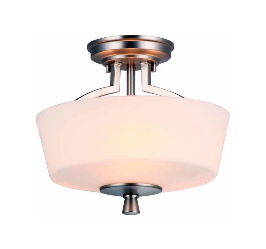 DVI Lighting DVP7212 Georgetown Three-Light Semi-Flush Ceiling Fixture