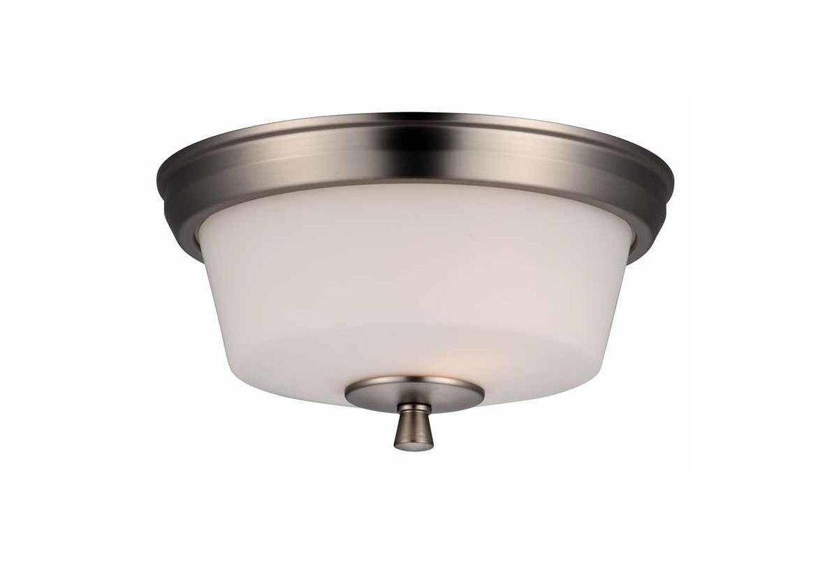 DVI Lighting DVP7230 Georgetown Two-Light Flush Mount Ceiling Fixture