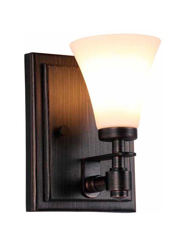 DVI Lighting DVP8399 Richmond Single-Light Wall Sconce Mocha with