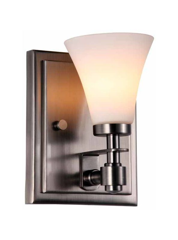 DVI Lighting DVP8399 Richmond Single-Light Wall Sconce Pewter with