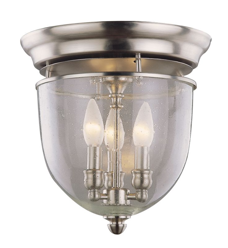 DVI Lighting DVP3032 3 Light Flush Mount from the Escarpment