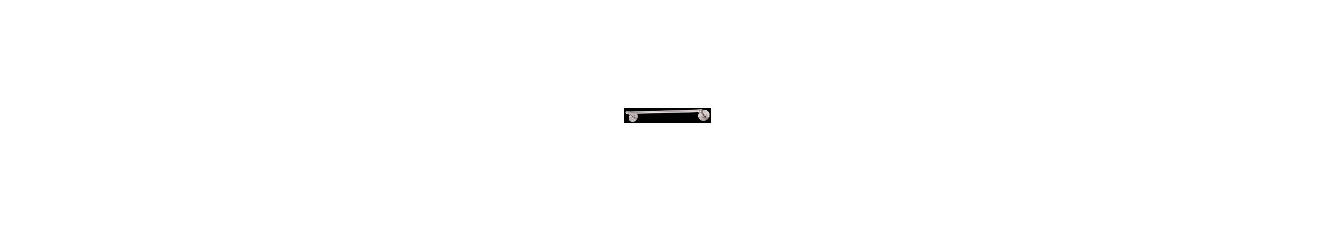 "DVI Lighting DVP3681 2 Light 24"" Towel Bar from the Dominion"