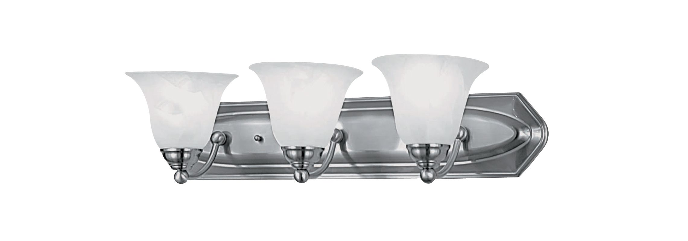 DVI Lighting DVP42403 Diamond 3 Light Incandescent Bathroom Vanity Sale $112.75 ITEM: bci1371533 ID#:DVP42403SN UPC: 61467423573 :