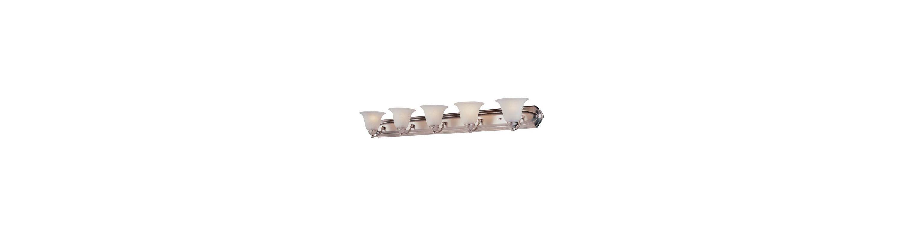 DVI Lighting DVP42405 Diamond 5 Light Incandescent Bathroom Vanity Sale $233.70 ITEM: bci1371535 ID#:DVP42405SN UPC: 61467425577 :