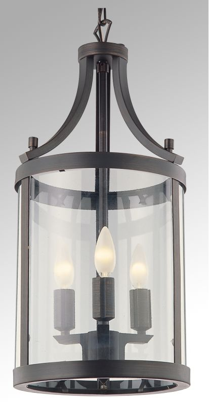 "DVI Lighting DVP4410 3 Light 10"" Pendant from the Niagara Collection"