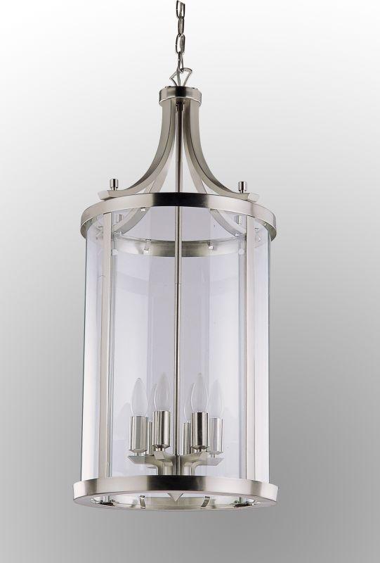 "DVI Lighting DVP4411 6 Light 14"" Pendant from the Niagara Collection"