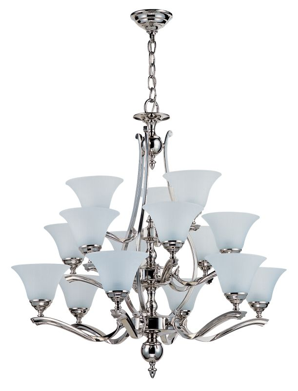 DVI Lighting DVP7445 Fifteen Up Light Chandelier from the Devonshire