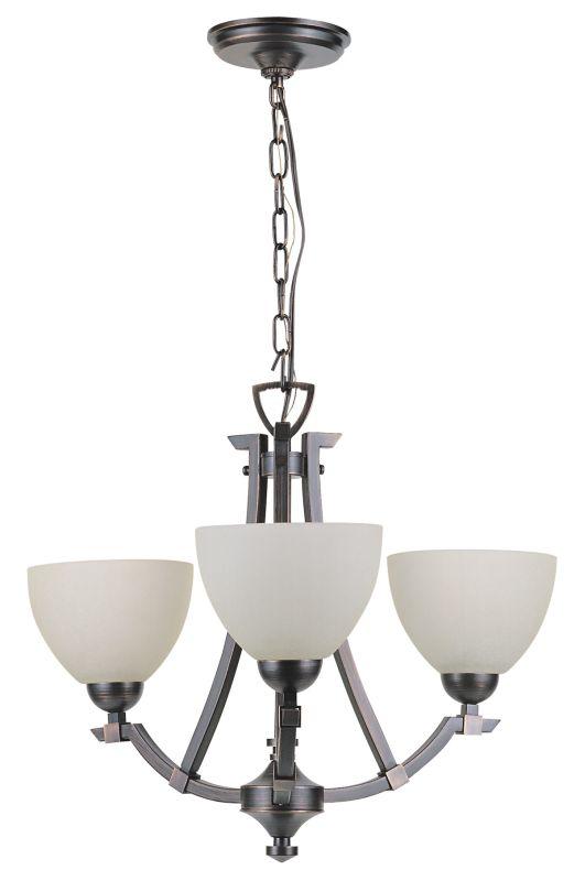 DVI Lighting DVP9323 3 Light Semi Flush / Chandelier from the Key West Sale $266.50 ITEM: bci1372055 ID#:DVP9323SN-WL UPC: 61467009937 :