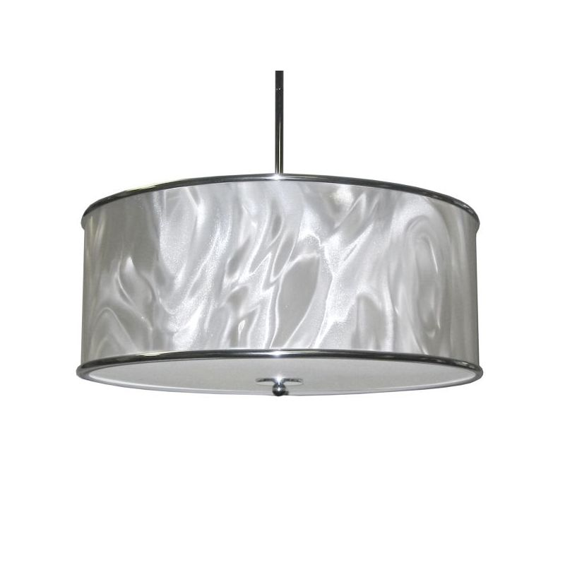Dainolite 57208P-PC-771 Ice 3 Light Pendant Polished Chrome Indoor