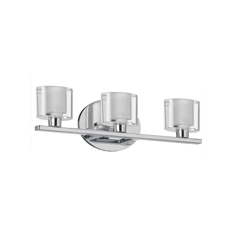 Dainolite 809-3W-PC 3 Light ADA Compliant Vanity Light Polished Chrome