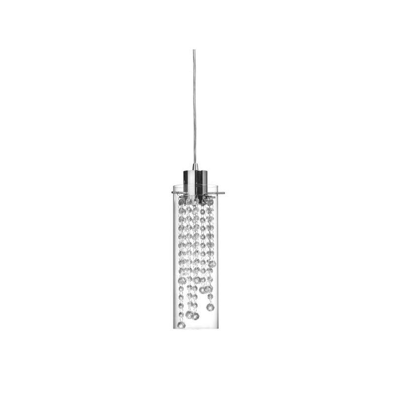 Dainolite 90621P-PC Cynthia 1 Light Mini Pendant Polished Chrome