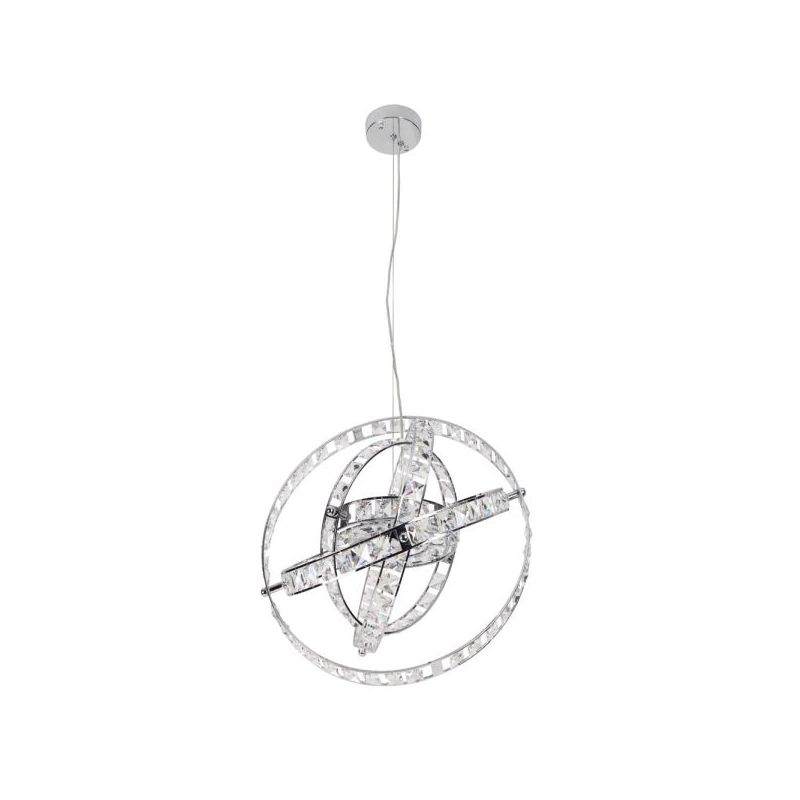 Dainolite CAS-520C-PC Cassini 6 Light Pendant Polished Chrome Indoor