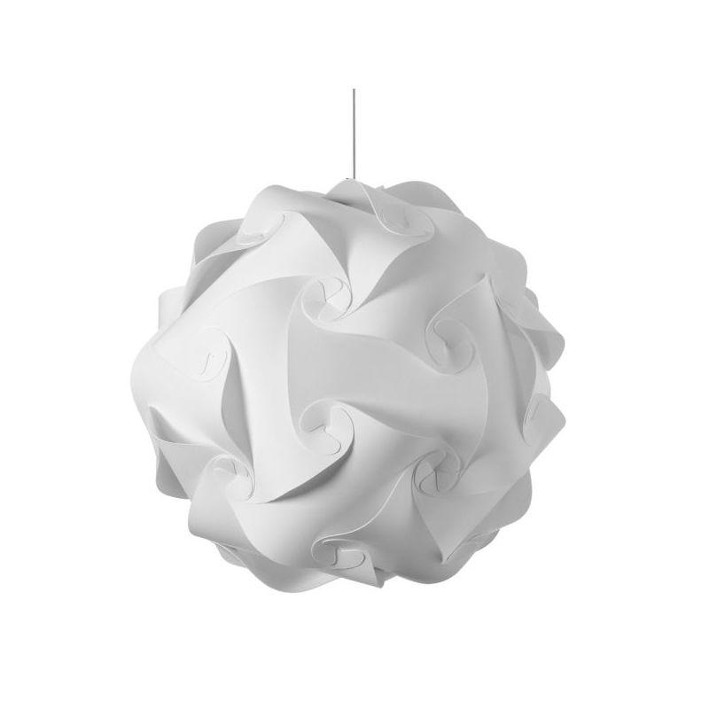 Dainolite DBL-L-790 Daino Ball 3 Light Pendant White Indoor Lighting