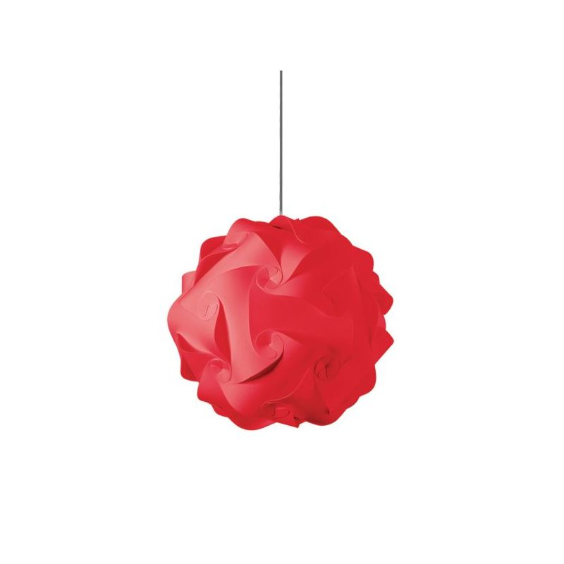 Dainolite DBL-M-795 Daino Ball 1 Light Pendant Red Indoor Lighting
