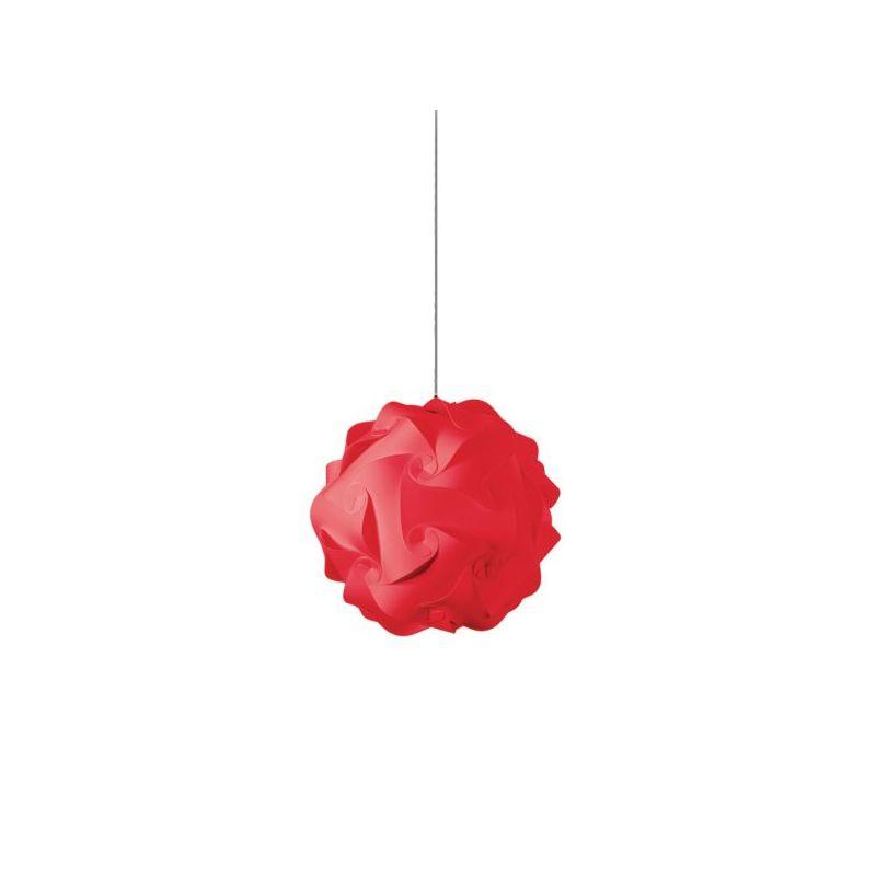 Dainolite DBL-S-795 Daino Ball 1 Light Mini Pendant Red Indoor