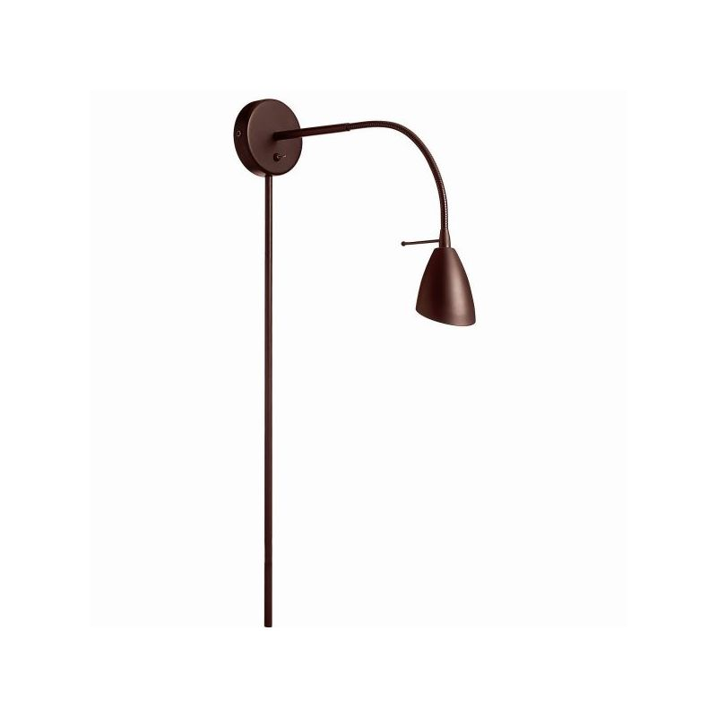 Dainolite DGUW224-OBB 1 Light Swing Arm Wall Sconce Oil Brushed Bronze