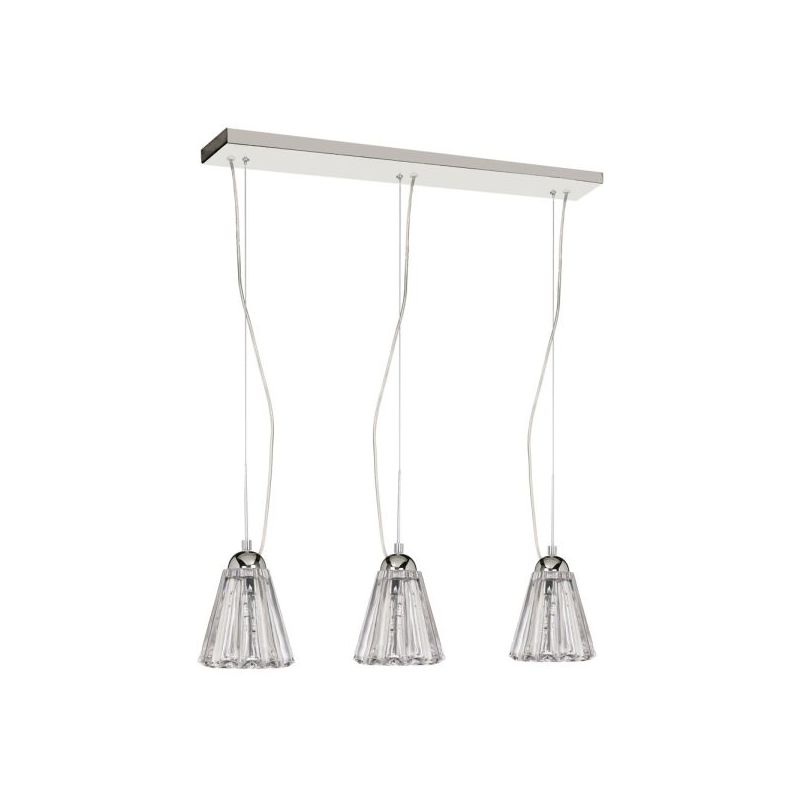 Dainolite DHC593-PC 9 Light Pendant Polished Chrome Indoor Lighting