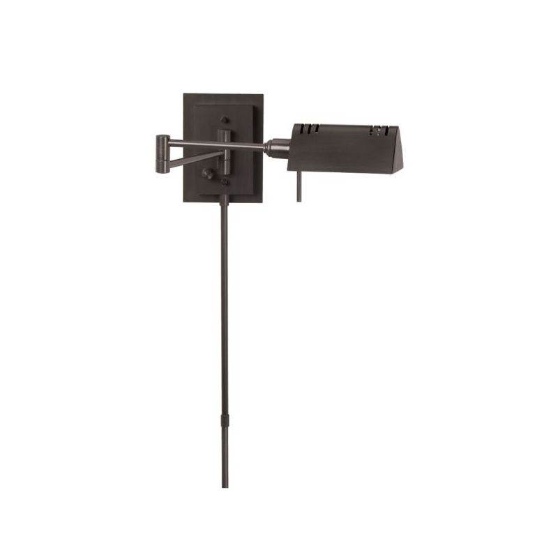 Dainolite DLHA654W-OBB 1 Light Swing Arm Wall Sconce Dark Oil Brushed
