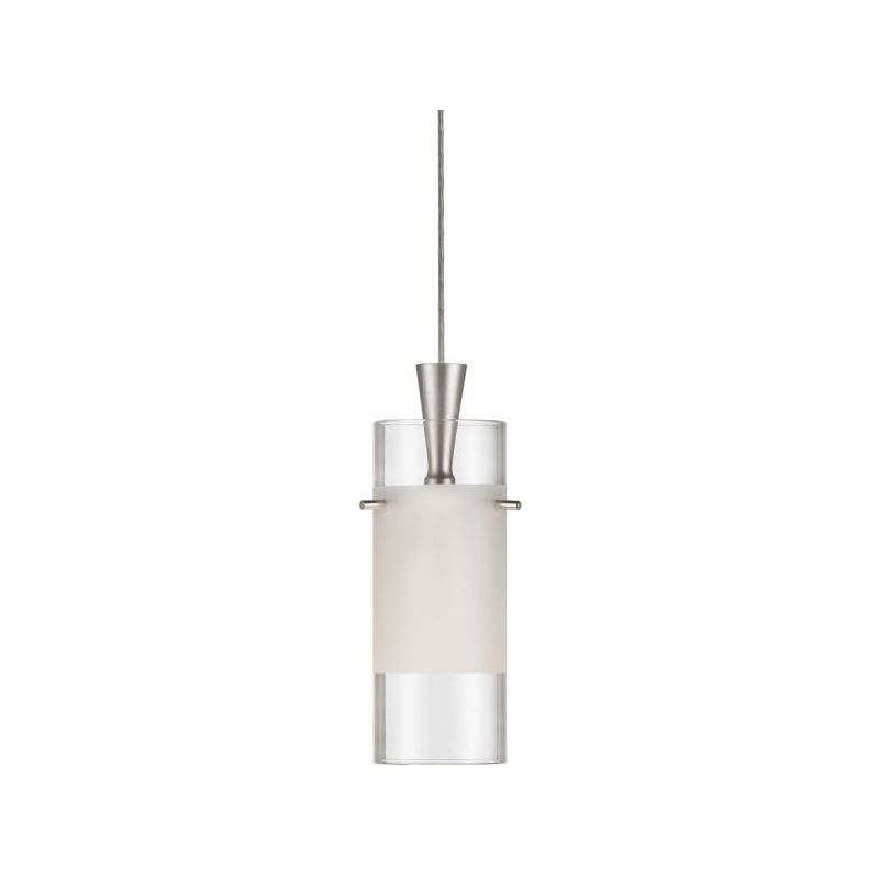 Dainolite DLSL221-CF-SC Dinette 1 Light Mini Pendant Satin Chrome