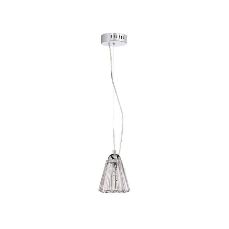 Dainolite DLSL591-PC 1 Light Mini Pendant Polished Chrome Indoor