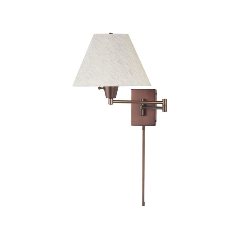 Dainolite DMWL800-OBB 1 Light Swing Arm Wall Sconce Oil Brushed Bronze