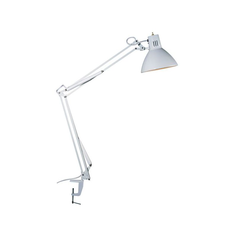 Dainolite DUN10-A-WH 1 Light Desk Lamp White Lamps Clamp-On Lamps Sale $356.00 ITEM: bci2295967 ID#:DUN10-A-WH :